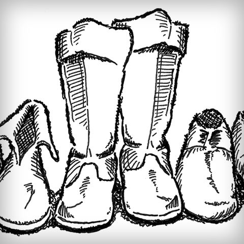 A Collection of Footwear